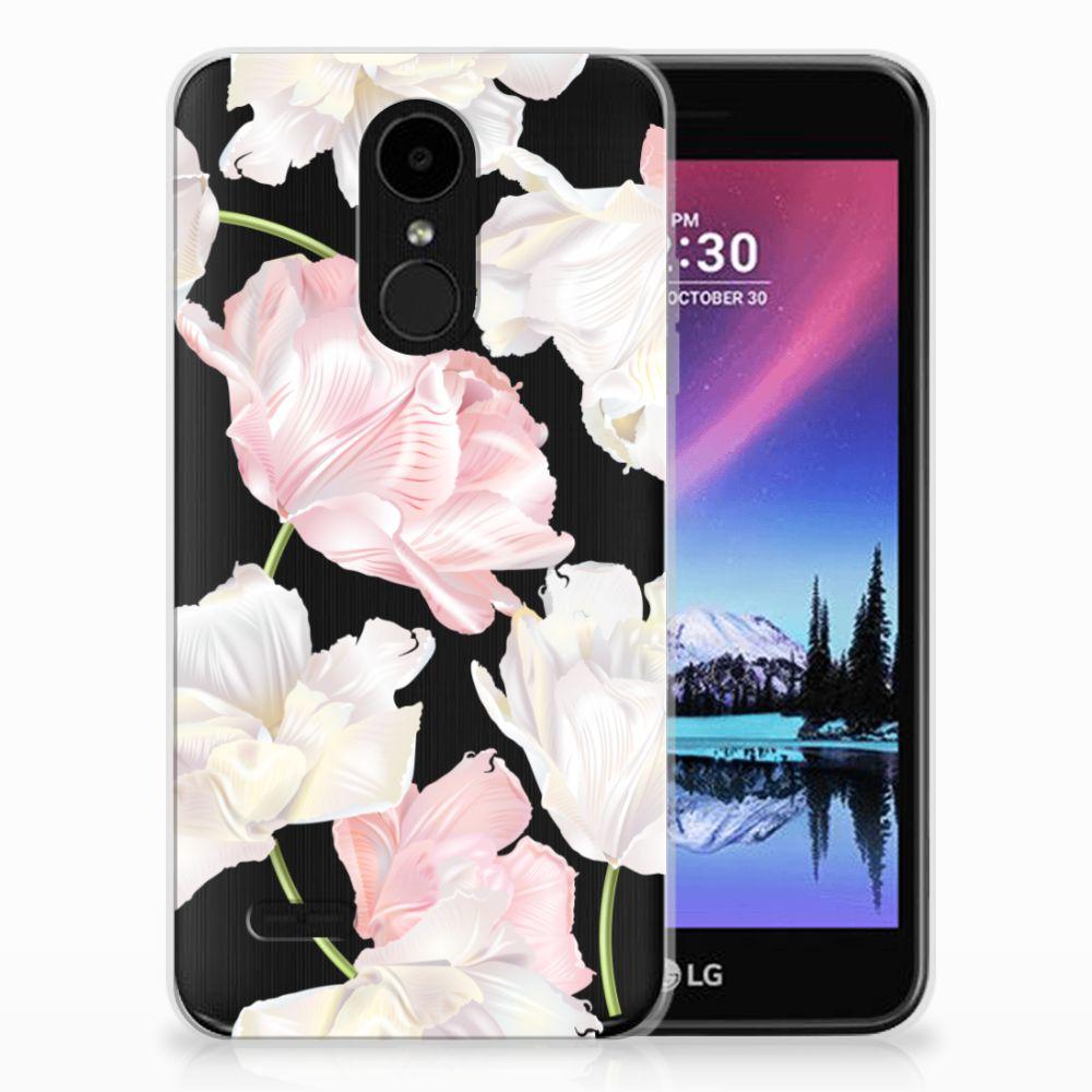 LG K4 (2017) TPU Hoesje Design Lovely Flowers
