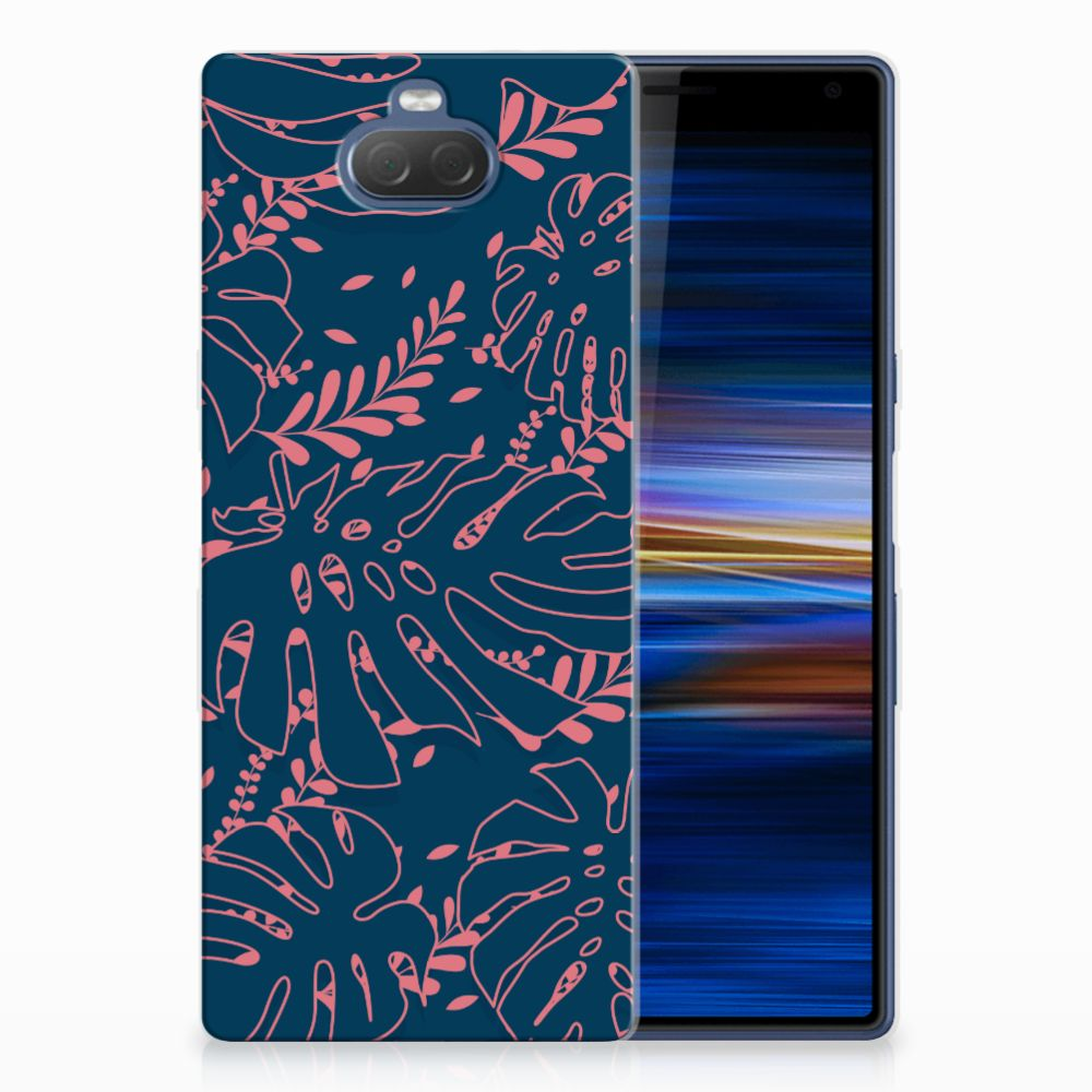 Sony Xperia 10 Plus TPU Hoesje Design Palm Leaves