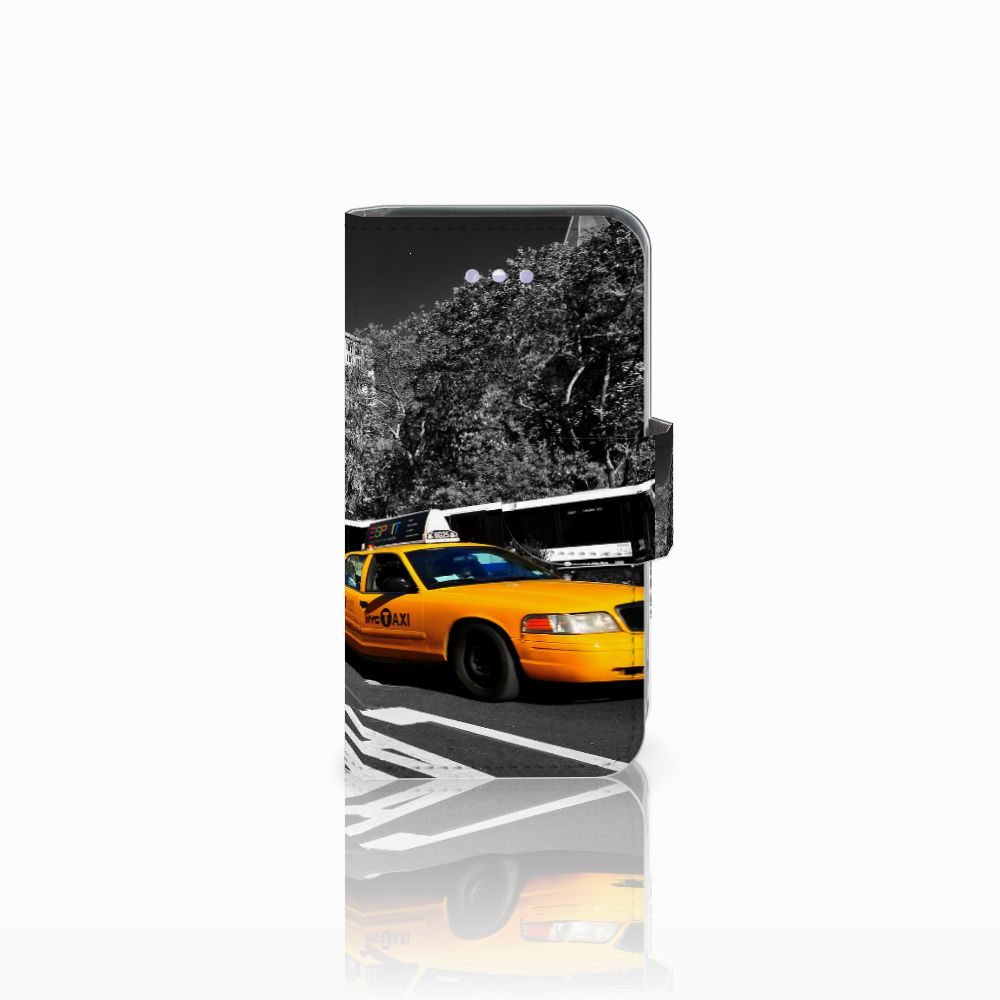iPhone 4-4S Bookstyle Hoesje New York Taxi