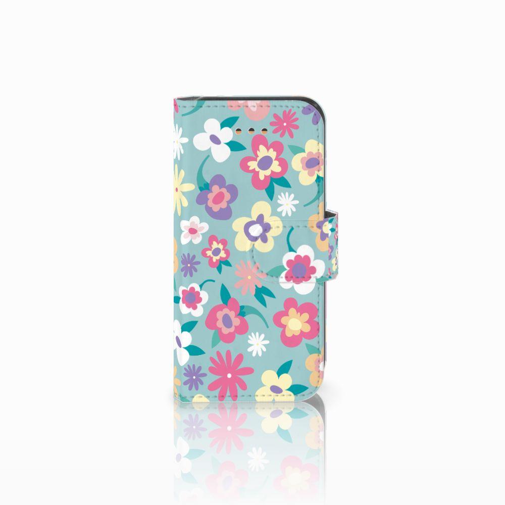 Apple iPhone 5C Boekhoesje Design Flower Power