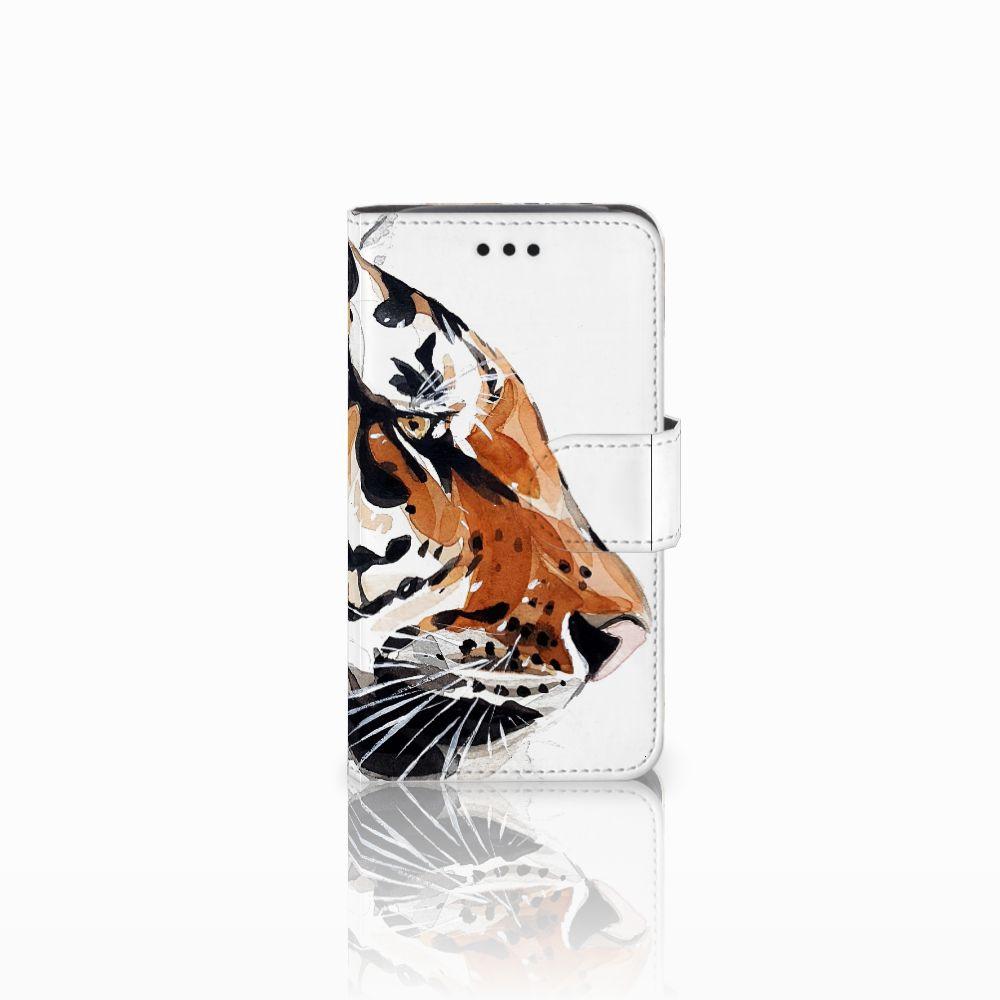 Hoesje Samsung Galaxy Core i8260 Watercolor Tiger