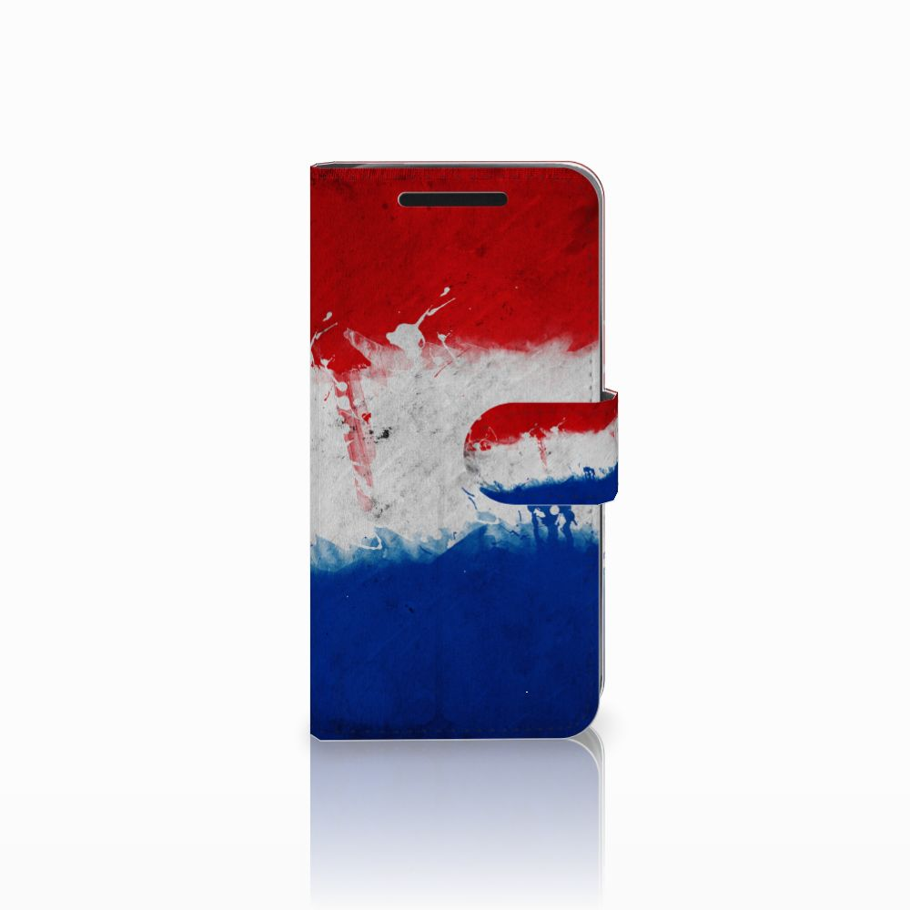 HTC One M9 Bookstyle Case Nederlandse Vlag