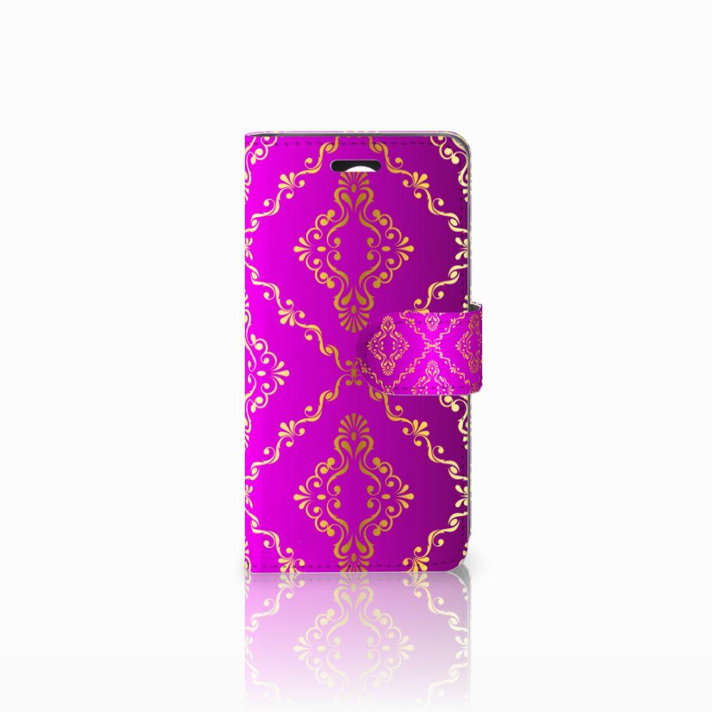 Huawei Y3 2 | Y3 II Uniek Boekhoesje Barok Roze