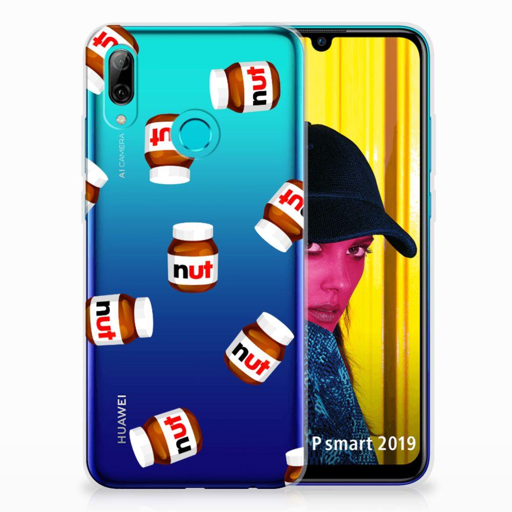 Huawei P Smart 2019 Siliconen Case Nut Jar
