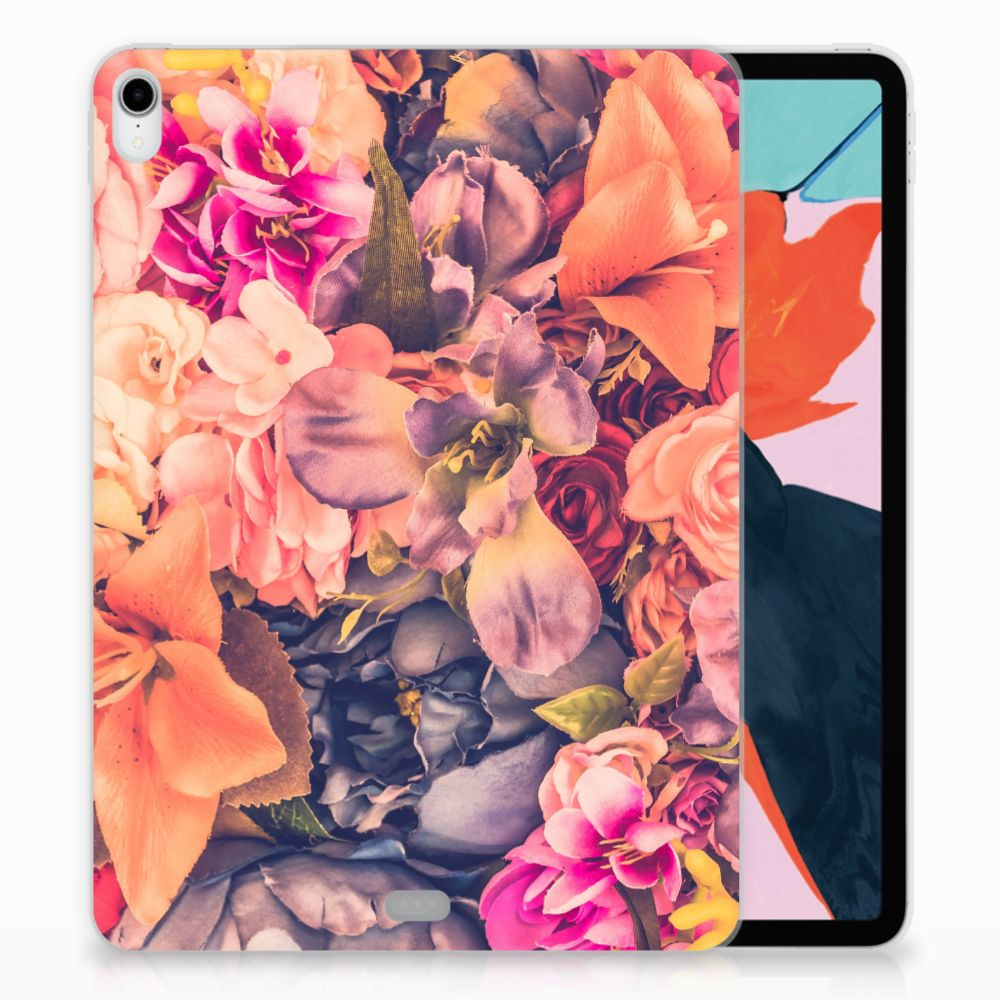 Apple iPad Pro 11 inch (2018) TPU Hoesje Design Bosje Bloemen