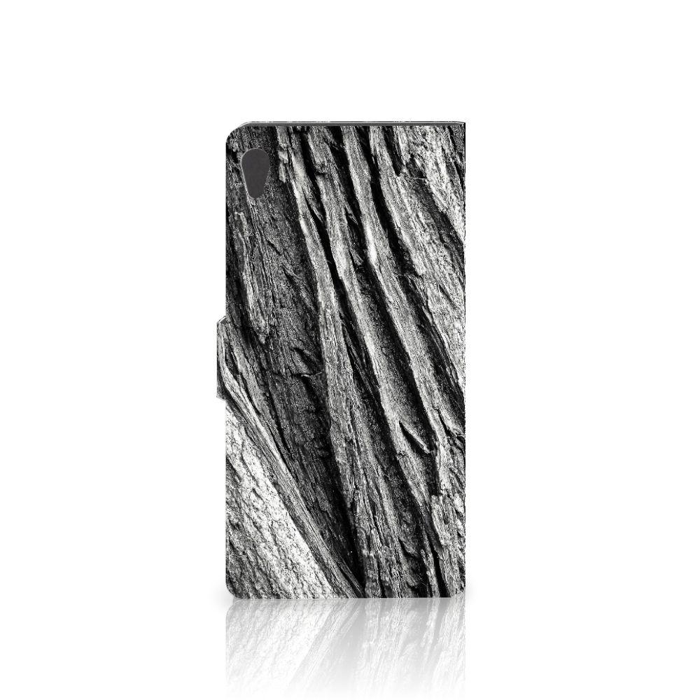Book Style Case Sony Xperia XA Ultra Boomschors Grijs