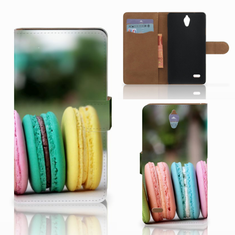 Huawei Ascend G700 Book Cover Macarons