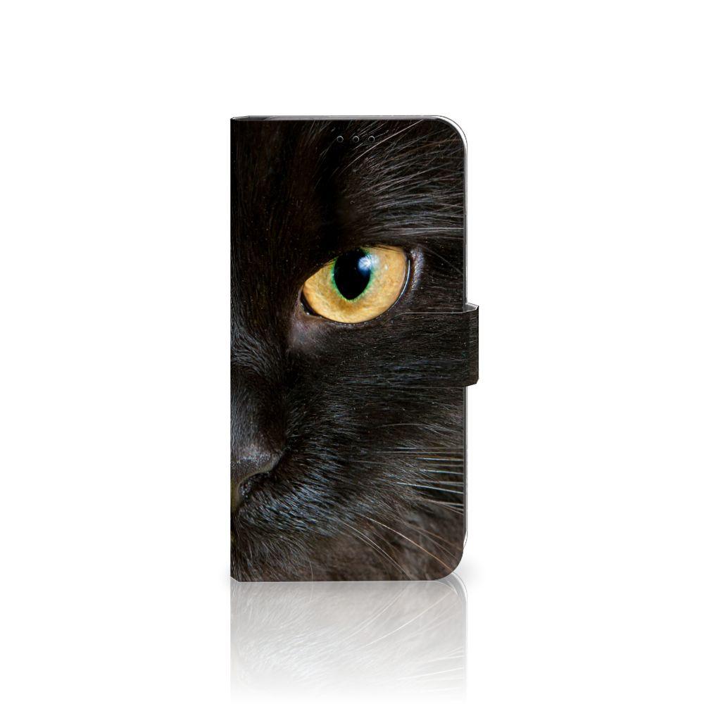 Apple iPhone Xs Max Uniek Boekhoesje Zwarte Kat