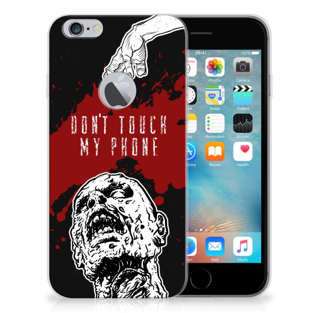 Apple iPhone 6 Plus | 6s Plus Silicone-hoesje Zombie Blood