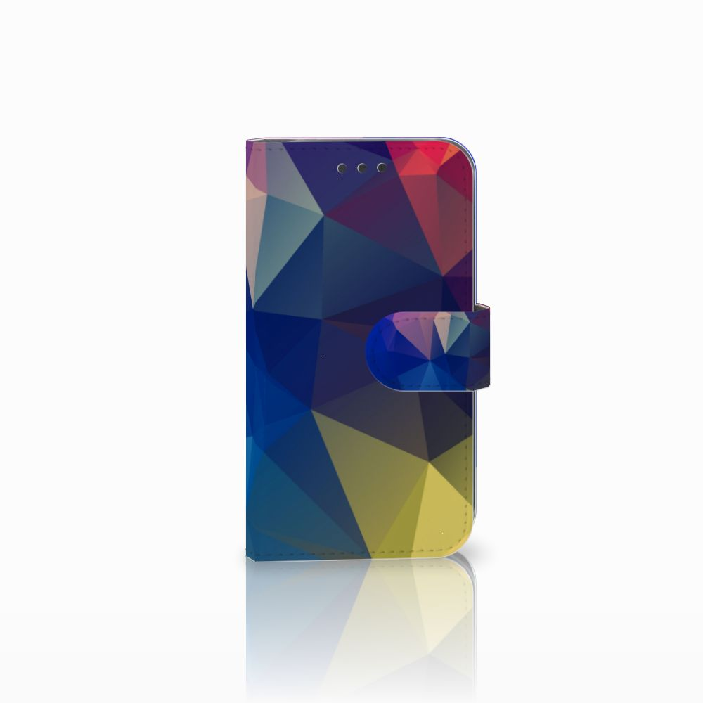 Samsung Galaxy S3 i9300 Bookcase Polygon Dark