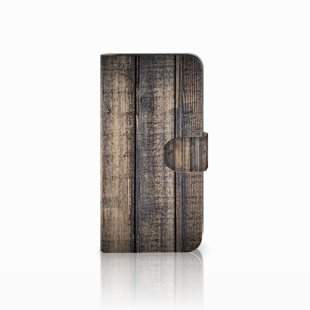 Samsung Galaxy E5 Boekhoesje Design Steigerhout