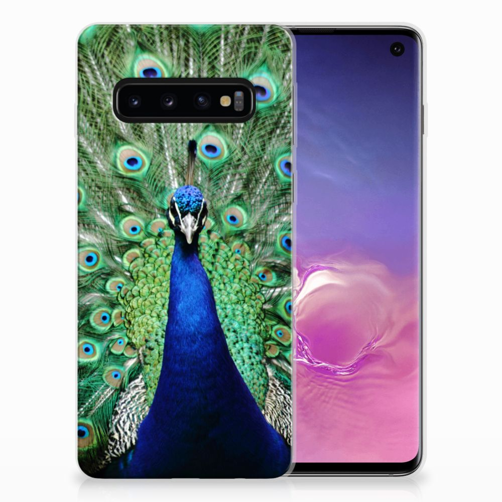 Samsung Galaxy S10 TPU Hoesje Pauw