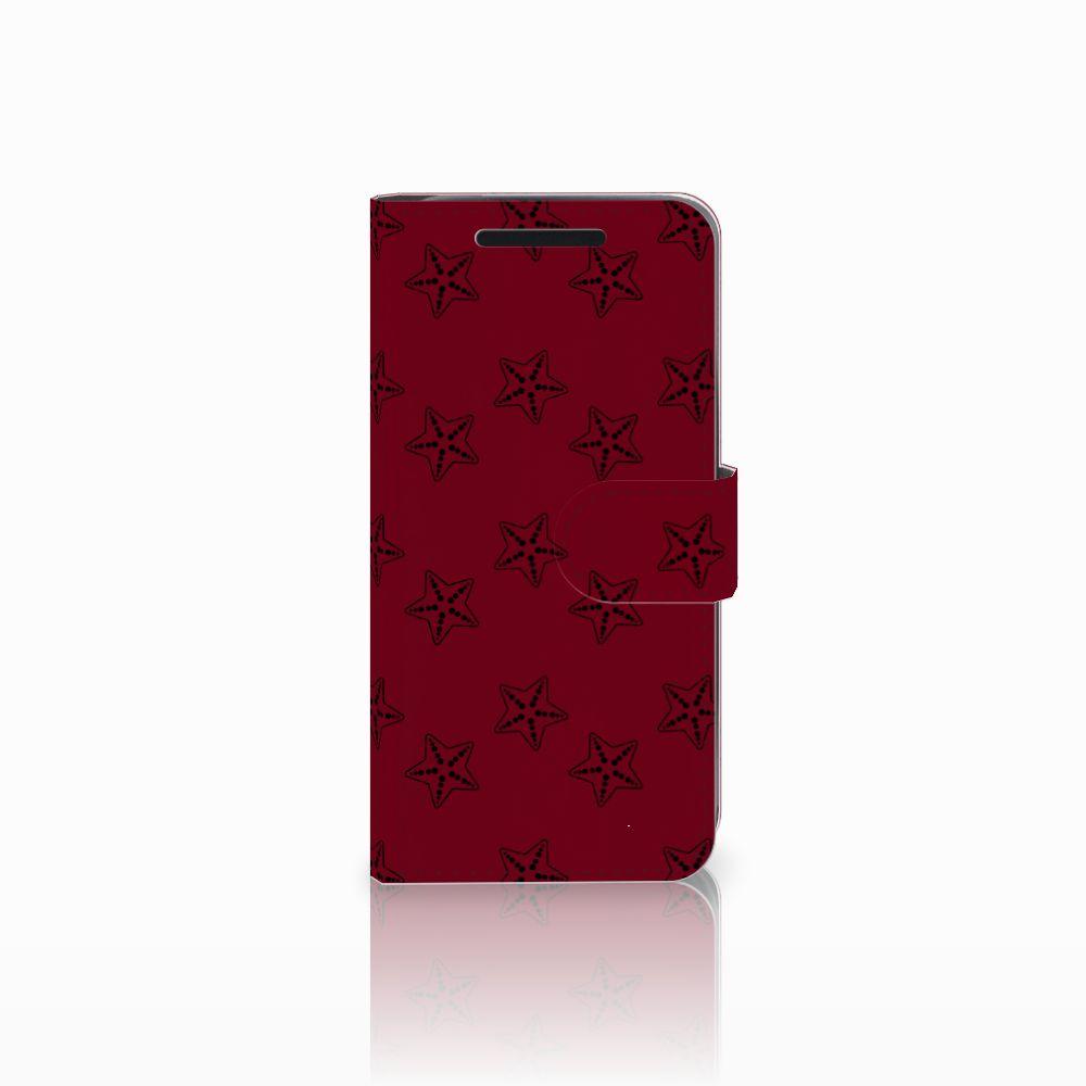 HTC One M9 Uniek Boekhoesje Sterren