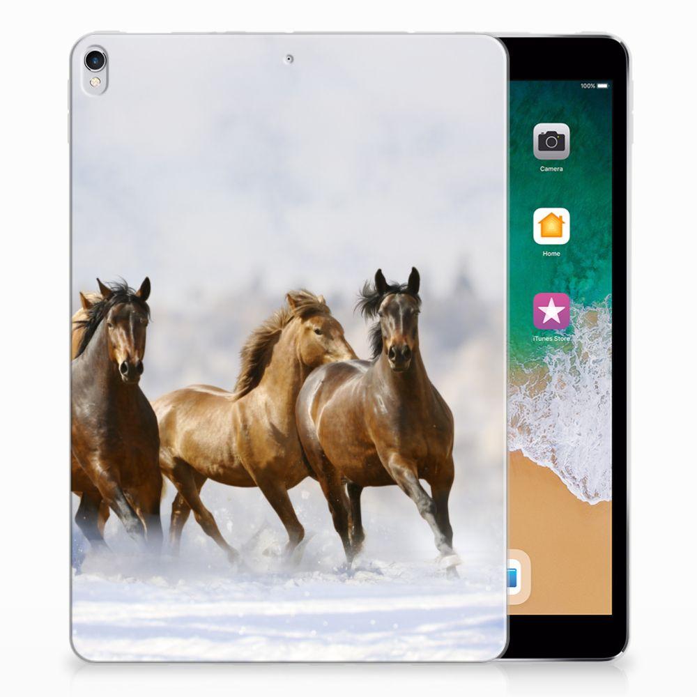 Apple iPad Pro 10.5 Uniek Tablethoesje Paarden