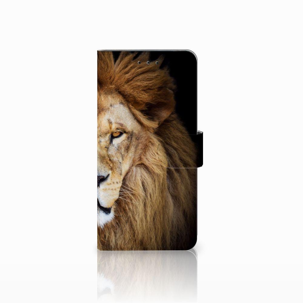 Motorola Moto E5 Plus Boekhoesje Design Leeuw