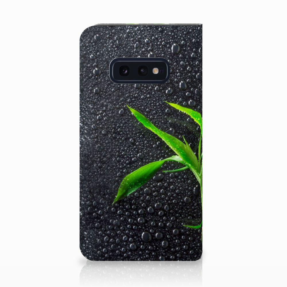 Samsung Galaxy S10e Standcase Hoesje Design Orchidee