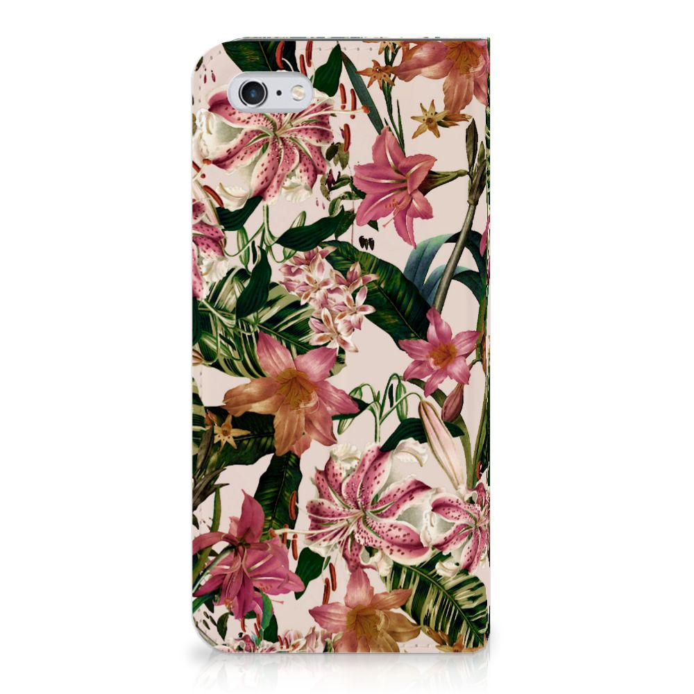 Apple iPhone 6 | 6s Uniek Standcase Hoesje Flowers