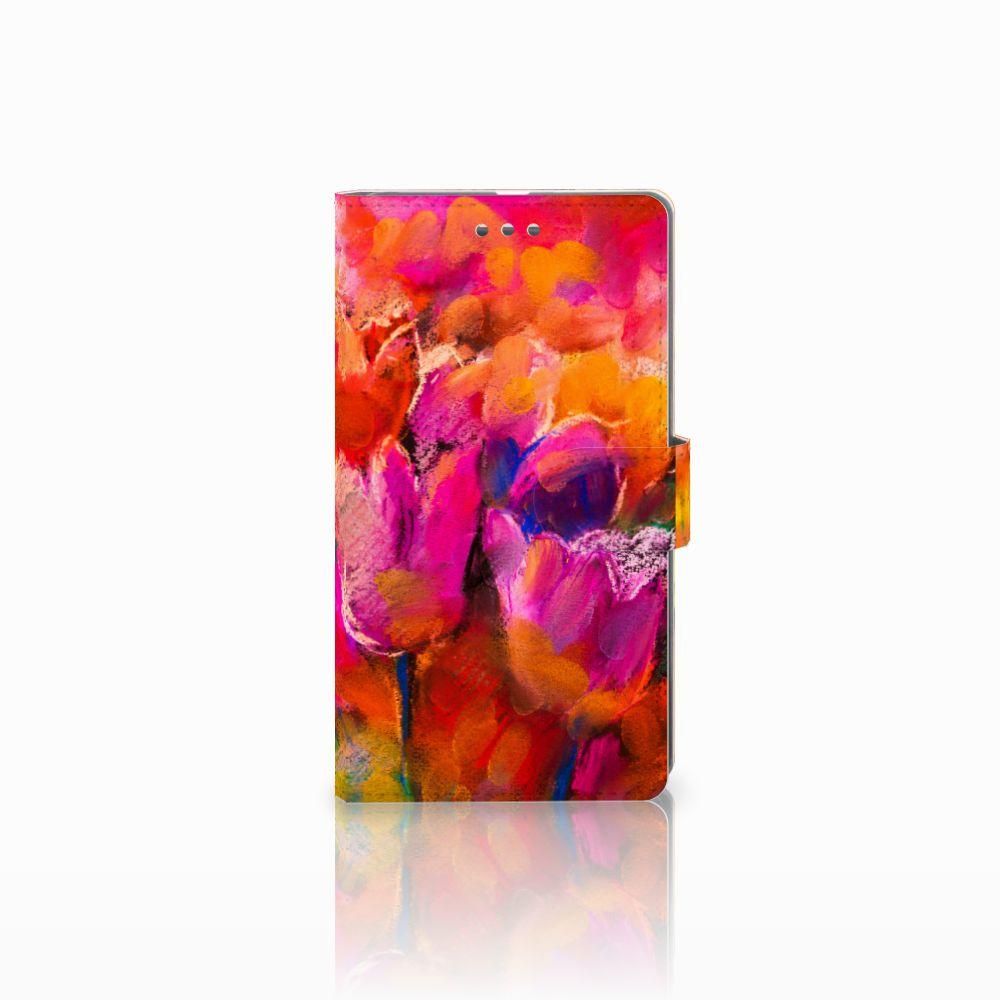 Microsoft Lumia 950 XL Boekhoesje Design Tulips