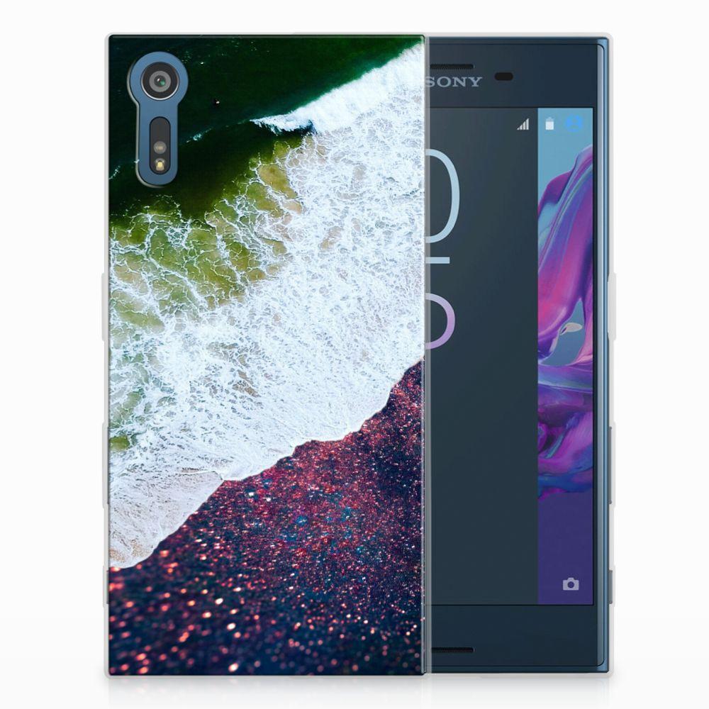 Sony Xperia XZs | XZ TPU Hoesje Sea in Space