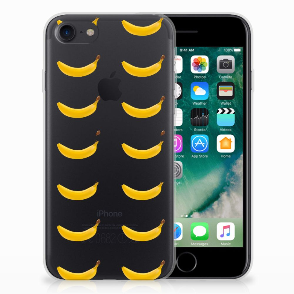 Apple iPhone 7 | 8 Siliconen Case Banana