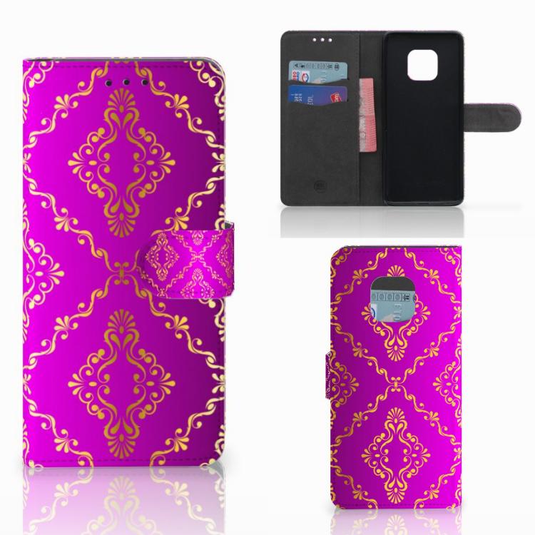 Wallet Case Huawei Mate 20 Pro Barok Roze