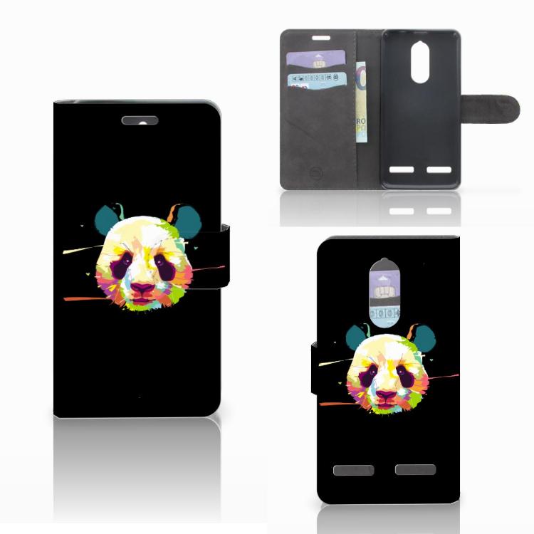 Lenovo K6 Leuk Hoesje Panda Color