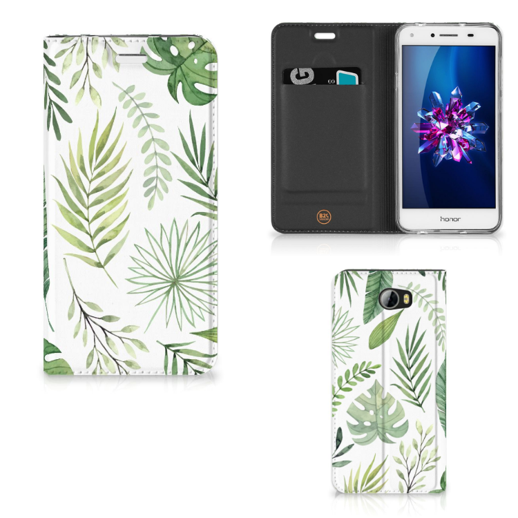Huawei Y5 2 | Y6 Compact Smart Cover Leaves