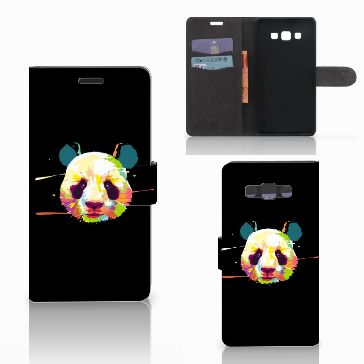 Samsung Galaxy A7 2015 Leuke Hoesje Panda Color