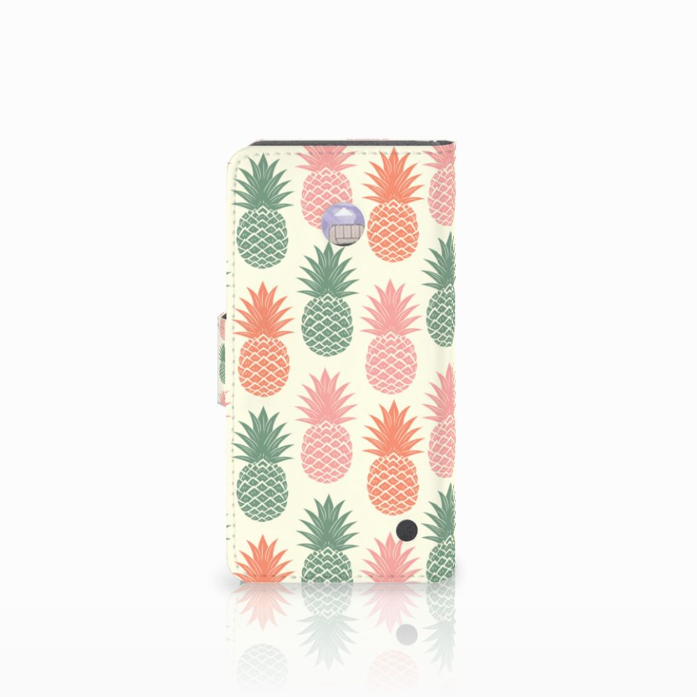 Nokia Lumia 630 Book Cover Ananas