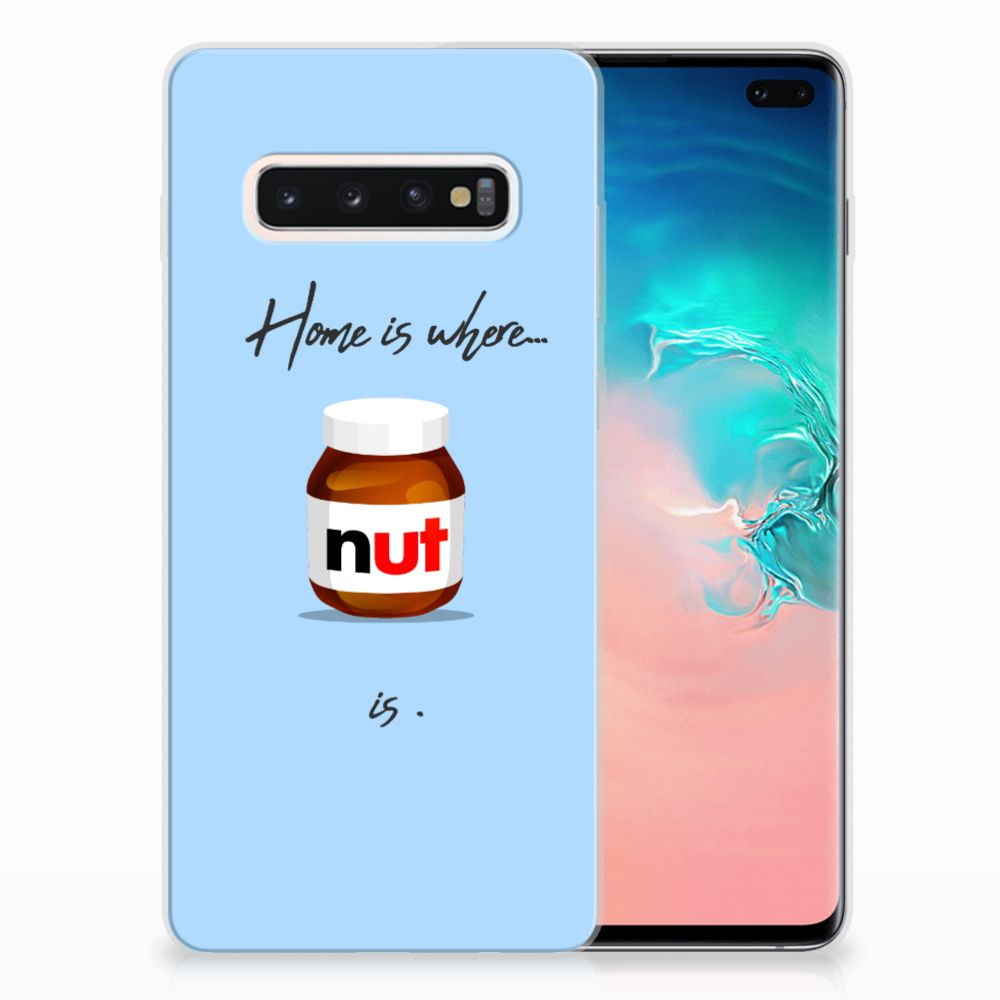 Samsung Galaxy S10 Plus Siliconen Case Nut Home