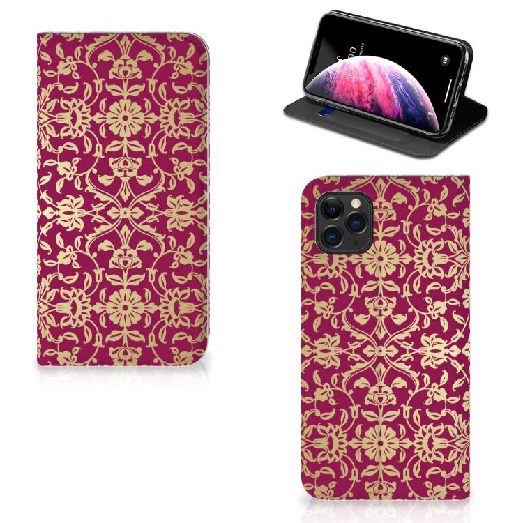 Telefoon Hoesje Apple iPhone 11 Pro Max Barok Pink