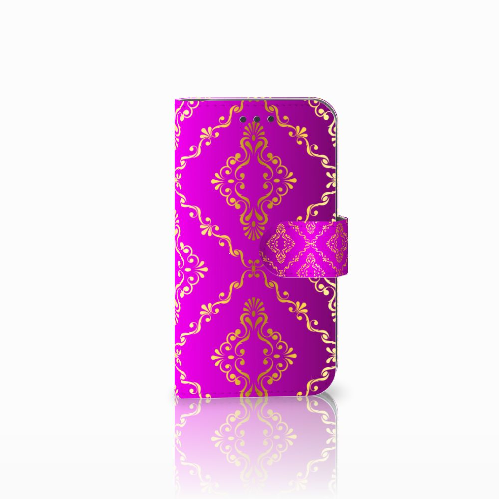 Wallet Case Samsung Galaxy S3 i9300 Barok Roze