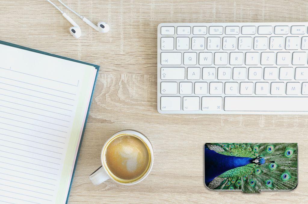 Apple iPhone 6 | 6s Boekhoesje Design Pauw