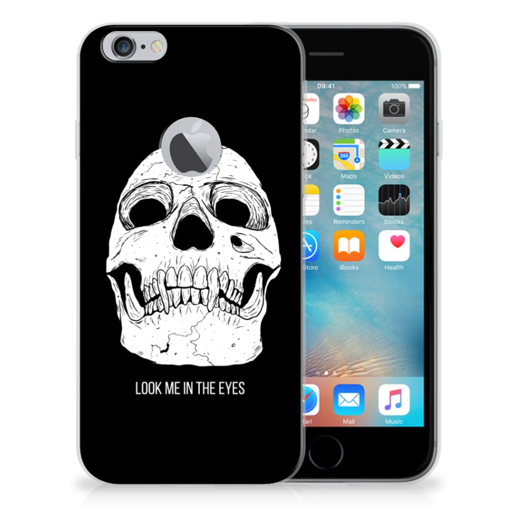 Silicone Back Case Apple iPhone 6 Plus | 6s Plus Skull Eyes