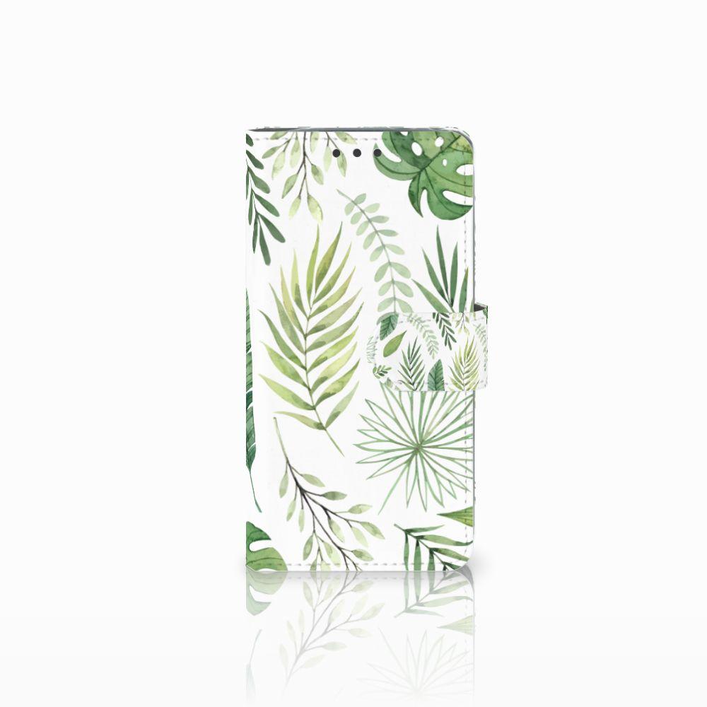 LG G5 Uniek Boekhoesje Leaves