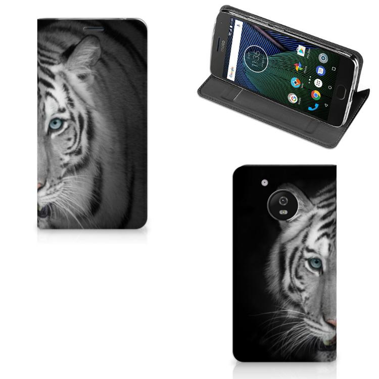 Motorola Moto G5 Hoesje maken Tijger