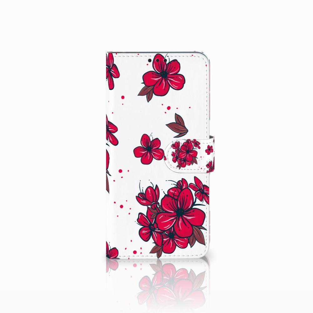 Huawei P Smart Plus Boekhoesje Design Blossom Red