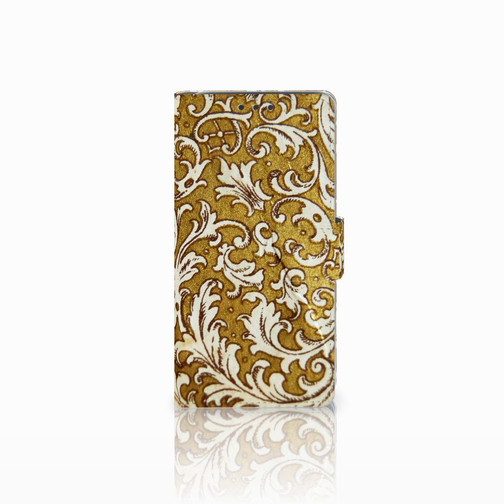 HTC Desire 626 | Desire 626s Boekhoesje Design Barok Goud