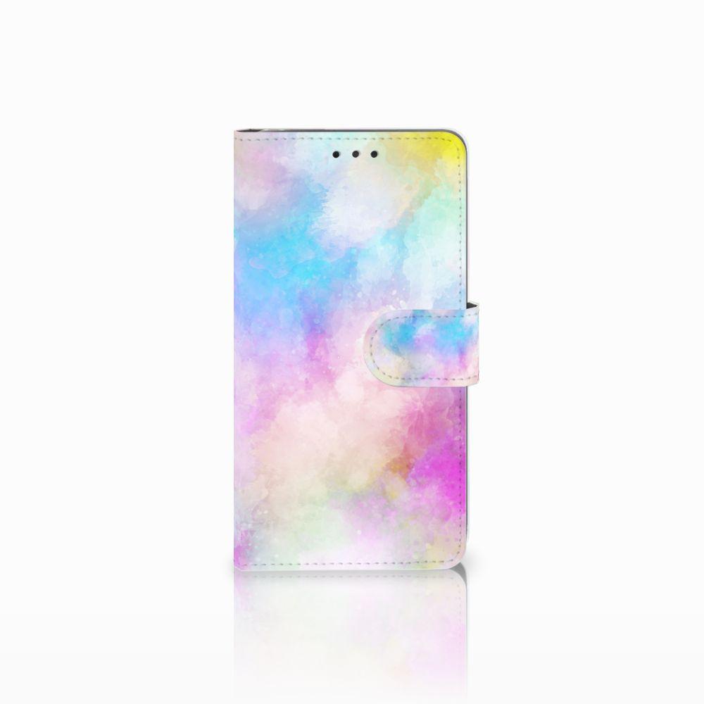 LG G4 Uniek Boekhoesje Watercolor Light