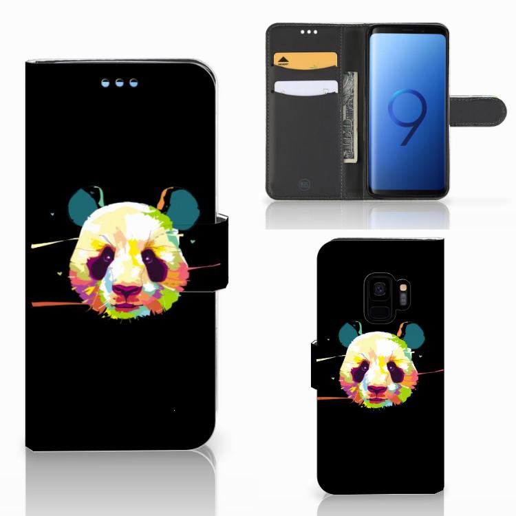 Samsung Galaxy S9 Leuk Hoesje Panda Color