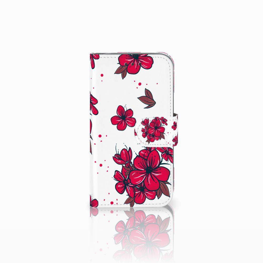 Samsung Galaxy Core Prime Boekhoesje Design Blossom Red