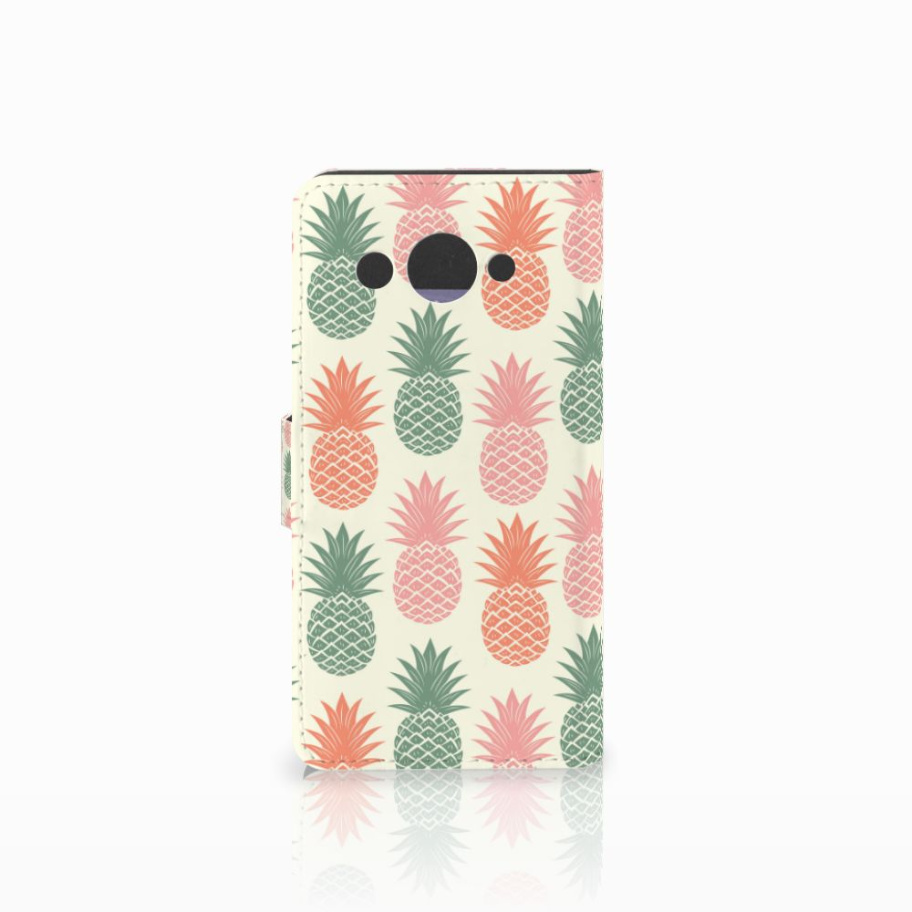 Huawei Y3 2017 Book Cover Ananas