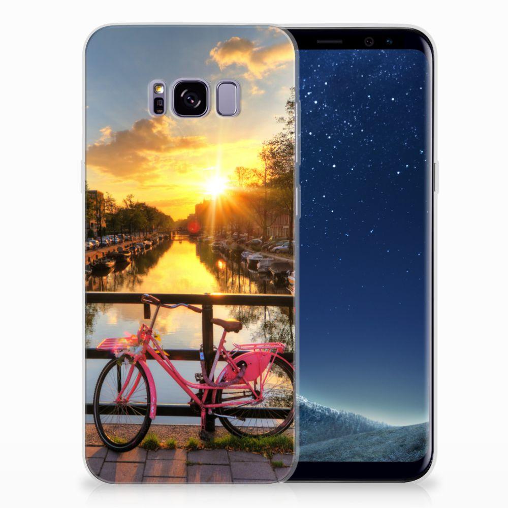 Samsung Galaxy S8 Plus Uniek TPU Hoesje Amsterdamse Grachten