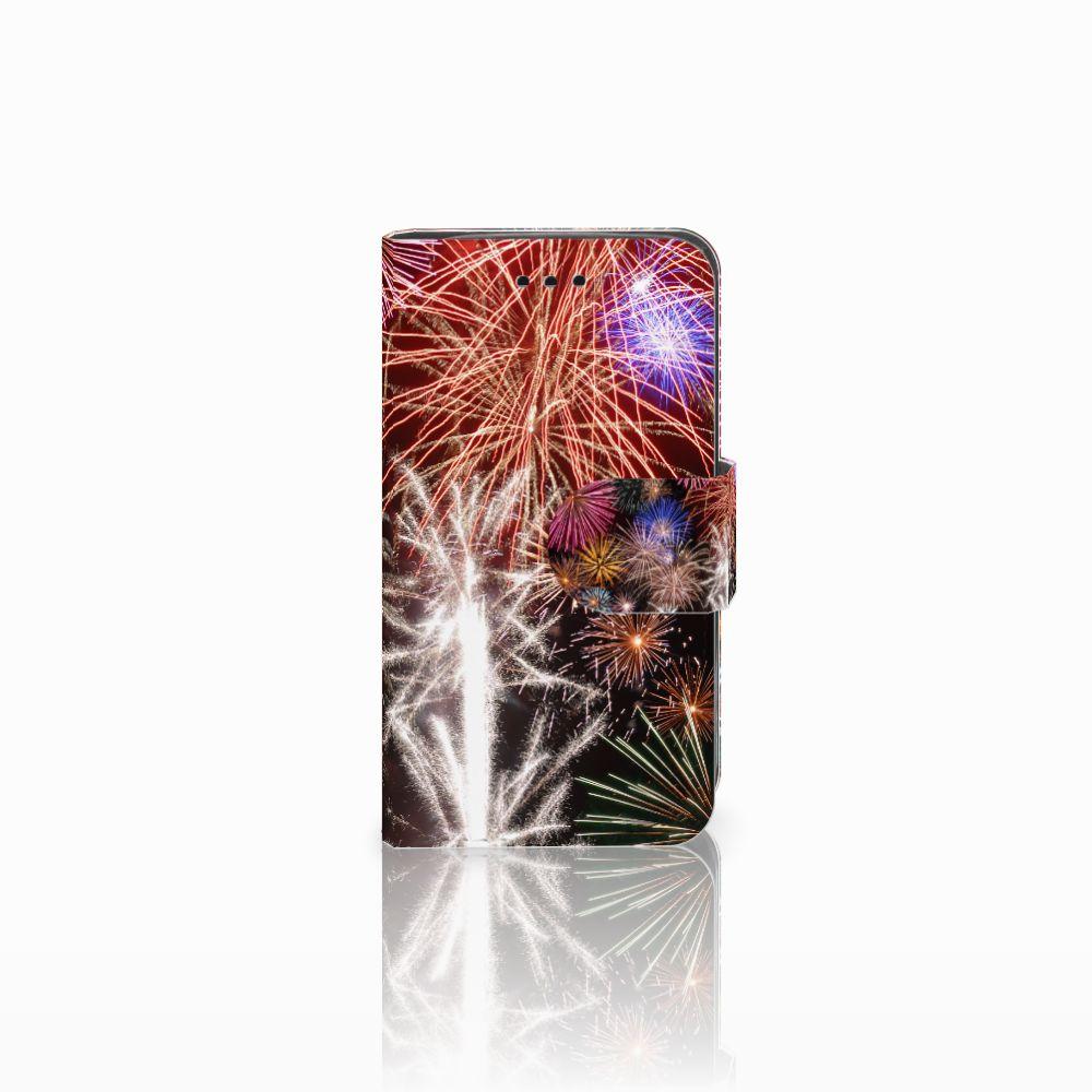 Samsung Galaxy Trend 2 Boekhoesje Design Vuurwerk