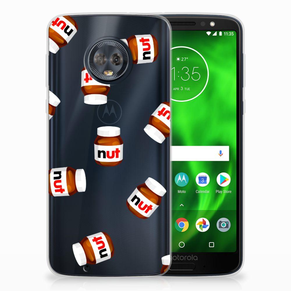 Motorola Moto G6 Siliconen Case Nut Jar