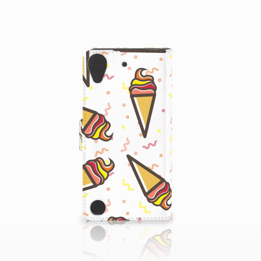 HTC Desire 530 Book Cover Icecream