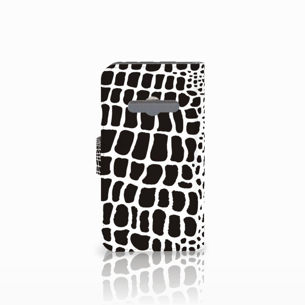 Samsung Galaxy Xcover 3   Xcover 3 VE Telefoonhoesje met Pasjes Slangenprint