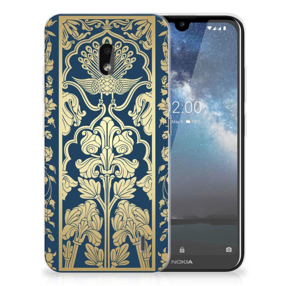 Nokia 2.2 TPU Case Golden Flowers