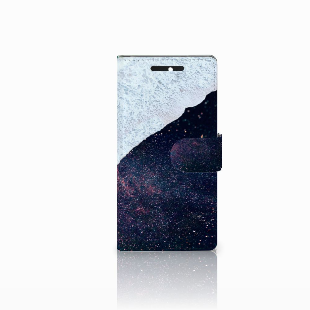 HTC Desire 628 Boekhoesje Design Sea in Space