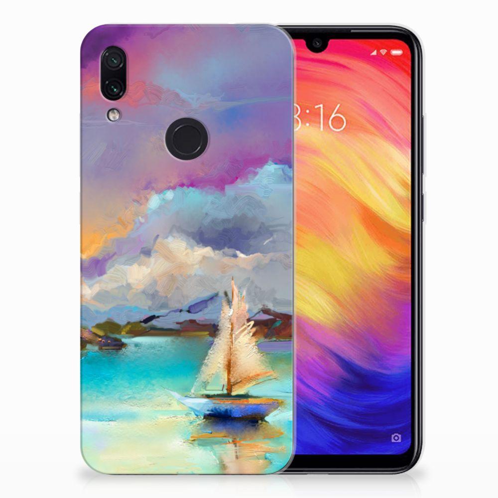 Hoesje maken Xiaomi Redmi Note 7 Boat